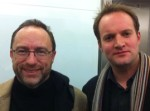 Jimmy Wales and Richard Kirby
